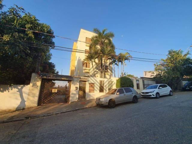 Apartamento com 3 dormitórios para alugar, 80 m² por r$ 950,00/mês - jardim emília - soroc