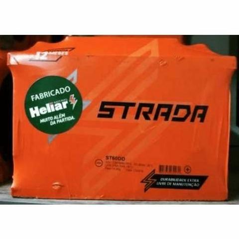 Baterias Strada Fabricação 150ah Heliar para caminhão ônibus utilitário nova  Delivery - Foto 6