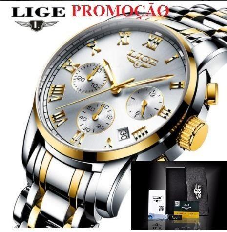 766624774a0 Relógio Clássico Masculino Original - Bijouterias