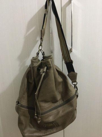 Bolsa couro legítimo - Foto 3