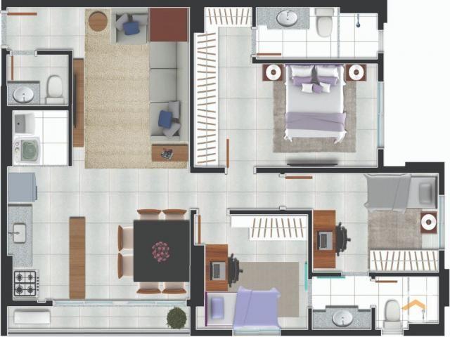 Apartamento à venda com 2 dormitórios em Setor negrão de lima, Goiânia cod:4171 - Foto 18