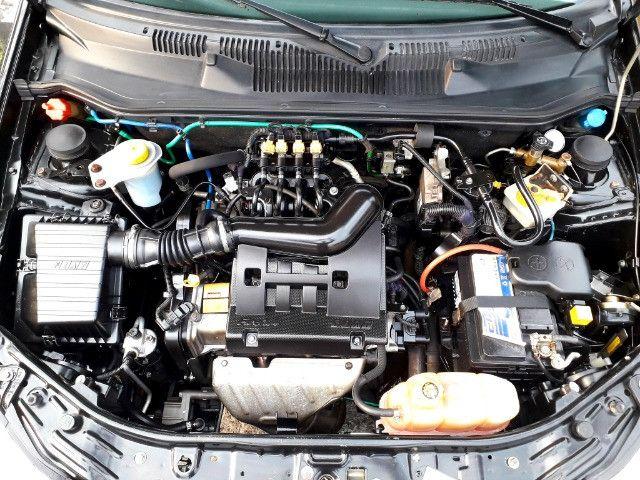 Fiat siena elx 1.4 tetrafuel - gnv original de fabrica - Foto 16