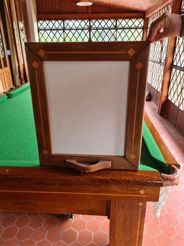 Mesa de Sinuca Oficial (3,10 x 1,62) completa - Foto 4