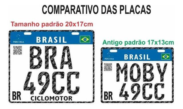 Placa Decorativa Moby 49cc - Sem alterações (Leia a descrição por favor) - Foto 11