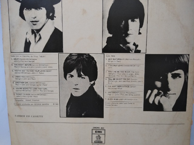 Disco de vinil ;usado ; The Beatles Help - Foto 4