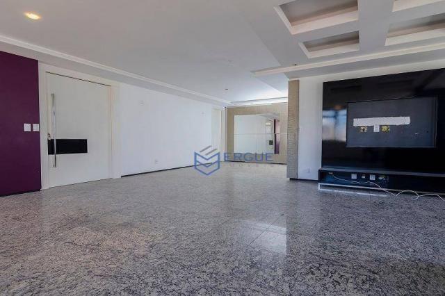 Apartamento com 3 dormitórios à venda, 223 m² por R$ 890.000 - Aldeota - Fortaleza/CE - Foto 5