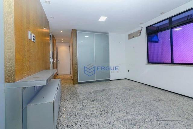 Apartamento com 3 dormitórios à venda, 223 m² por R$ 890.000 - Aldeota - Fortaleza/CE - Foto 11