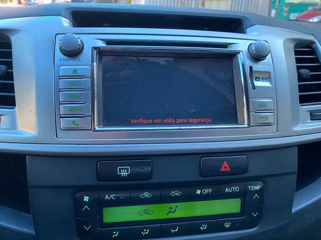 Toyota Hilux Srv 4x4 Automática 2013 Legalizada Alta Placa i - Foto 12