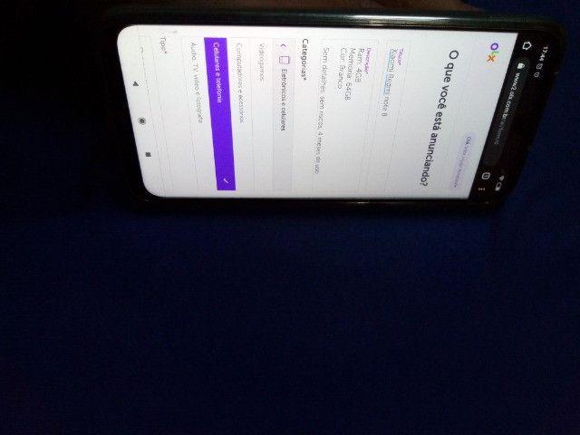 Xiaomi Redmi note 8 (troco em Contrabaixo) - Foto 3