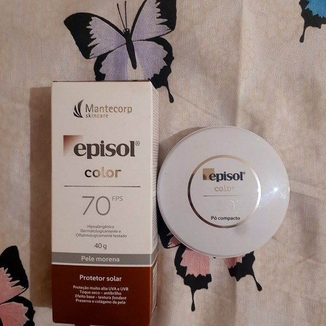 Protetor solar Episol Color 70Fps