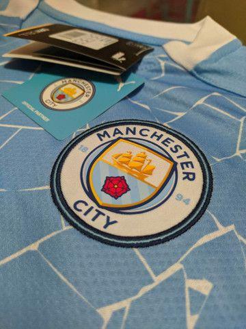 Camisa Manchester city 2020/2021 - Foto 4