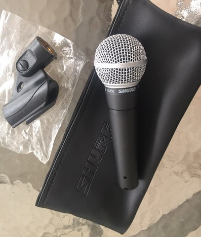 Microfone Shure SM58 - Original - USA - Oportunidade - Foto 3