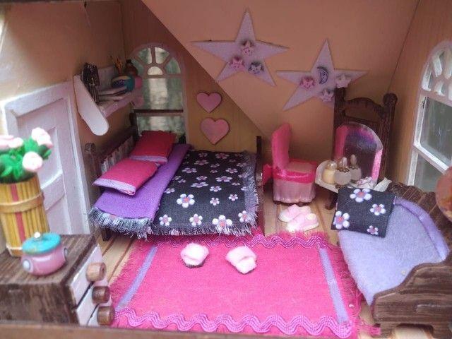 Casa de Bonecas Tipo Maquete  - Foto 2