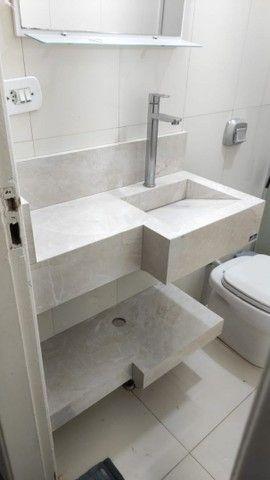 Cubas de banheiro, nichos e cozinhas planejadas em porcelanato - Foto 6