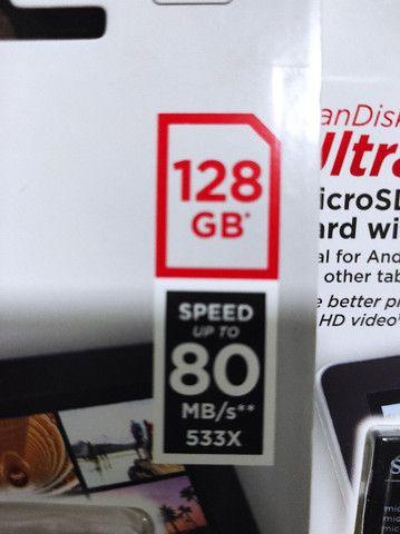 MicroSD SanDisk 128Gb - Foto 4