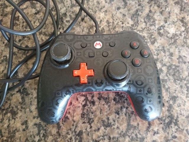Pro Controller Nintendo Switch Original Edição Mario