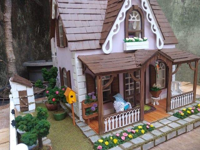 Casa de Bonecas Tipo Maquete  - Foto 4