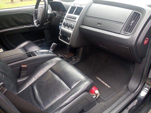 Dodge Journey 2010 Se 2.7 v6 aut/tip+toplinha+couro+cdmp3+revisada+novíssima!!! - Foto 19