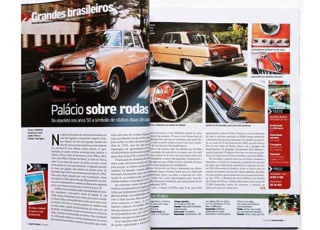 Revista Quatro Rodas - Willys Itamaraty - Foto 2