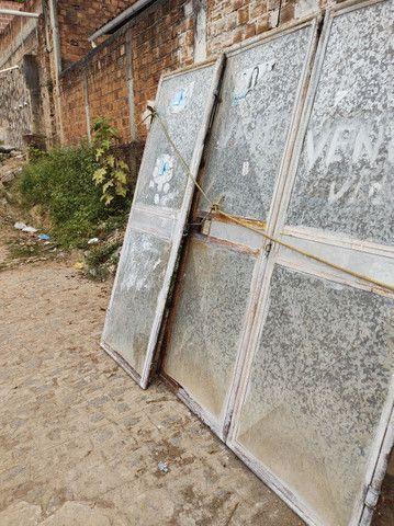Portão galvanizado - Foto 2
