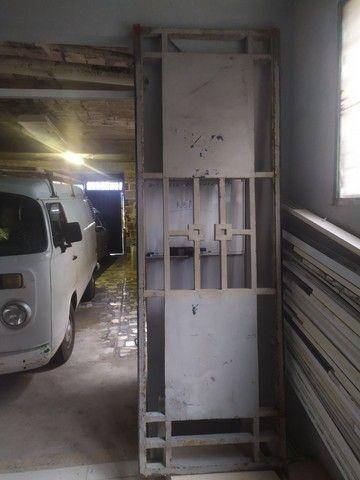 Portão de ferro 2.31x76 (REFORÇADO 5cm o Metalon)