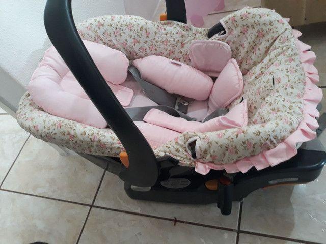 Bebê conforto e ofurô cor de rosa - Foto 6