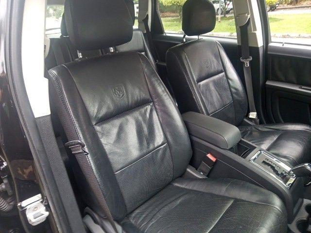 Dodge Journey 2010 Se 2.7 v6 aut/tip+toplinha+couro+cdmp3+revisada+novíssima!!! - Foto 15