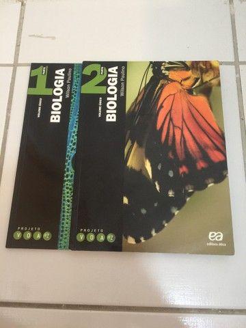 Biologia Projeto Voaz - Wilson Paulino (Editora Ática)