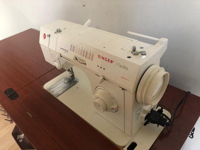 Máquina SINGER FACILITA Com Gabinete  - Foto 4
