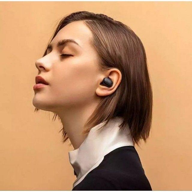 Redmi Airdots 2 Original + cabo usb extra - fone de ouvido sem fio bluetooth - Foto 5