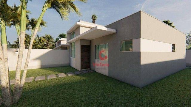 Casa Linear com 3 Quartos Sendo 1 Suíte à venda, 80 m² por R$ 280.000 - Enseada das Gaivot - Foto 3