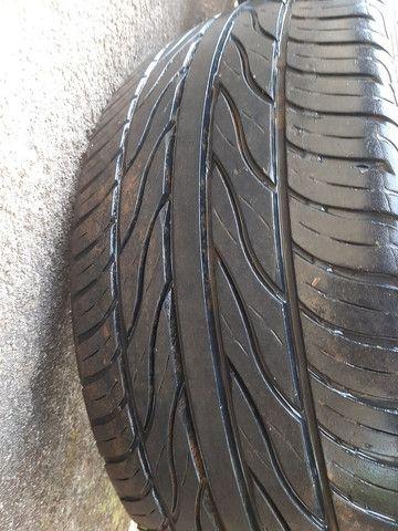 Roda 19 pneu semi novos - Foto 3