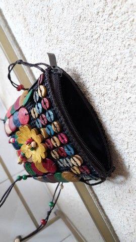 Bolsinha artesanal  - Foto 3