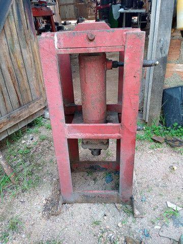 Unidade hidráulica e cilindro - Foto 3