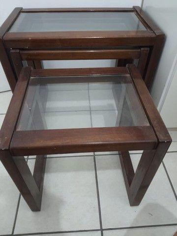Conjunto três mesas apoio - Foto 5