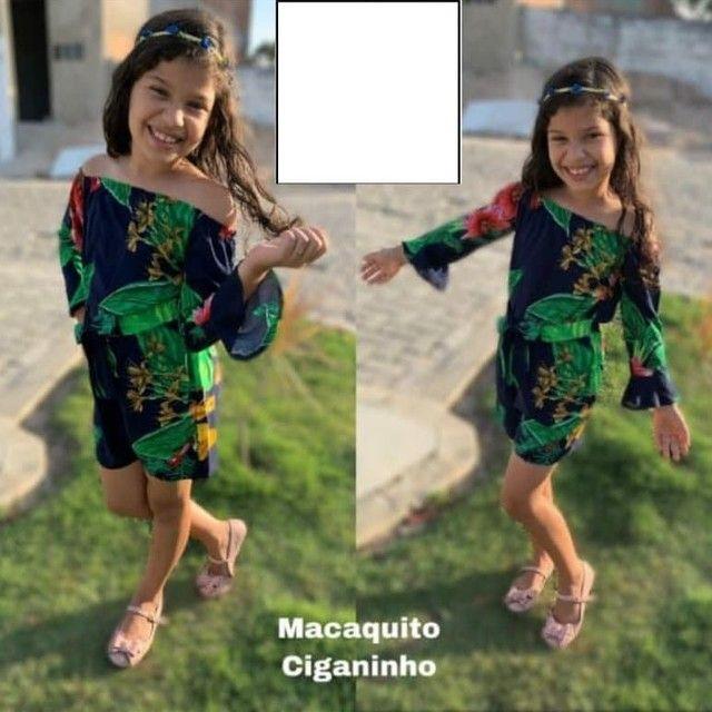 Vestidos viscose infantil varejo e atacado direto de fabrica - Foto 2