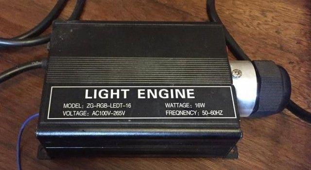 Motor de Luz RGB de Led e Fibra ótica. - Foto 2