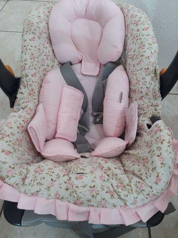 Bebê conforto e ofurô cor de rosa - Foto 3