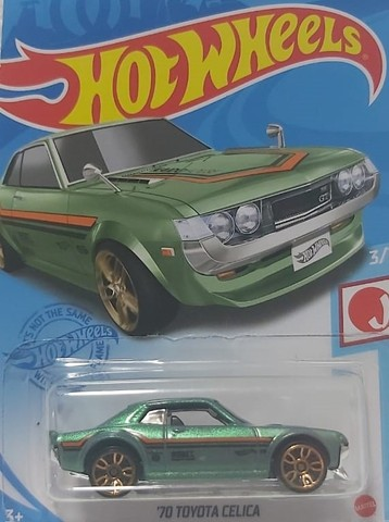 2 Carrinhos Hot Wheels Toyota Celica e Honda Prelude - Foto 3