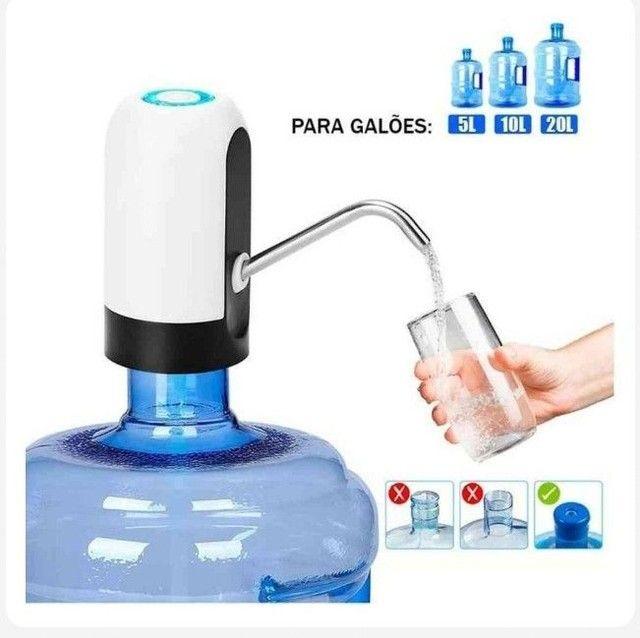 Bomba d'água Elétrica portátil para Galão D'agua  - Foto 2