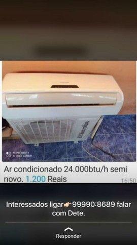 Ar condicionado 24.000btu