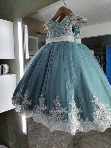 Vestido de festa infantil - Foto 6