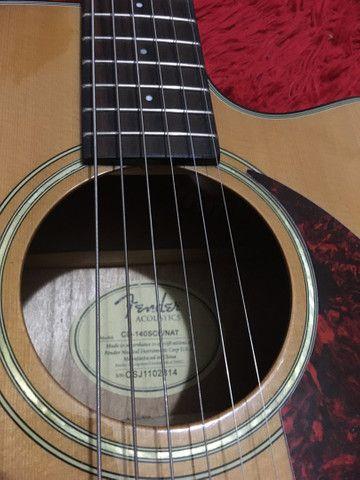 Violão Fender CD140sce - Foto 2