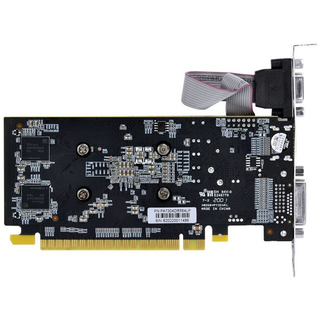 PLACA DE VIDEO NVIDIA GEFORCE GT 730 GDDR5 4GB 64BITS LOW PROFILE COM KIT INCLUSO  - Foto 5