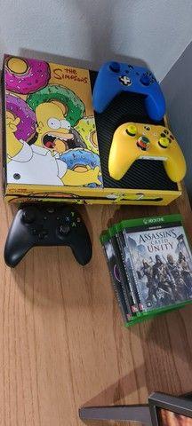 Xbox One 3 controles + volante g920 completo