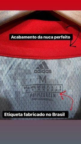 Camisa Flamengo 2021 - Tamanho M - Tailandesa (Primeira Linha) - Foto 6