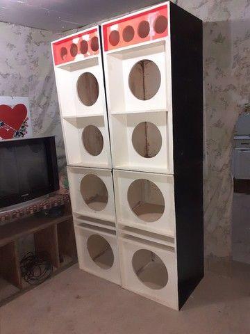 Vende-se essas caixas de som valor 1.500 negociável  - Foto 2