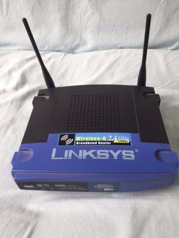 Roteador Linksys Cisco