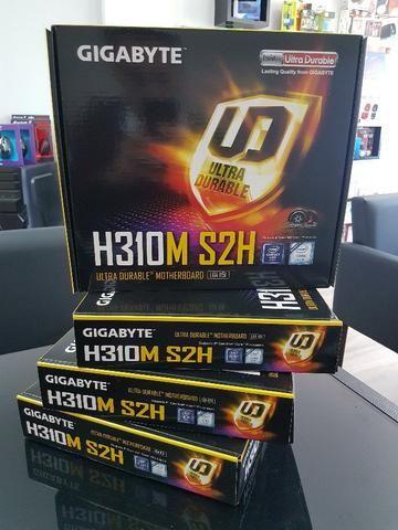 Placa-Mãe Gigabyte H310M S2H DDR4 p/ Intel LGA 1151 8ª geração