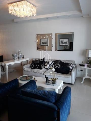 Lindo apartamento semi mobiliado, suite master mais duas suítes, em ótima localização! - Foto 9